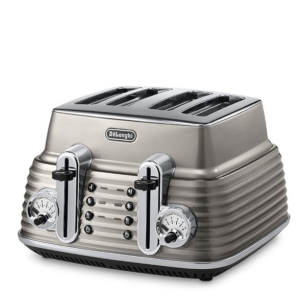 DeLonghi Scultura Four Slice Toaster: We love the eye-catching bronze shade of this four slice toaster and Italian inspired retro design. The 1800 watts toaster features reheat, defrost, cancel, and a bagel function, with an easy to remove crumb tray. The toaster retails for $249.99. For stockists, see delonghi.co.nz.