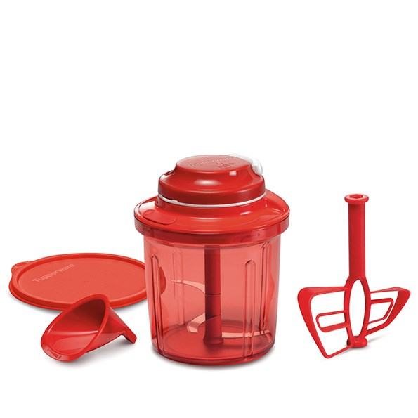 Tupperware Extra Chef: This multi-function food processor is powered by an easy to use pull cord mechanism, meaning it's a great appliance to take on holiday. The processor slices, dices and cuts fresh produce with the triple blade attachment, while the whisk attachment is great for cake batter and sauces. The Extra Chef, $138, also comes with a 1.3L base, cover and funnel attachment. See, tupperware.co.nz.
