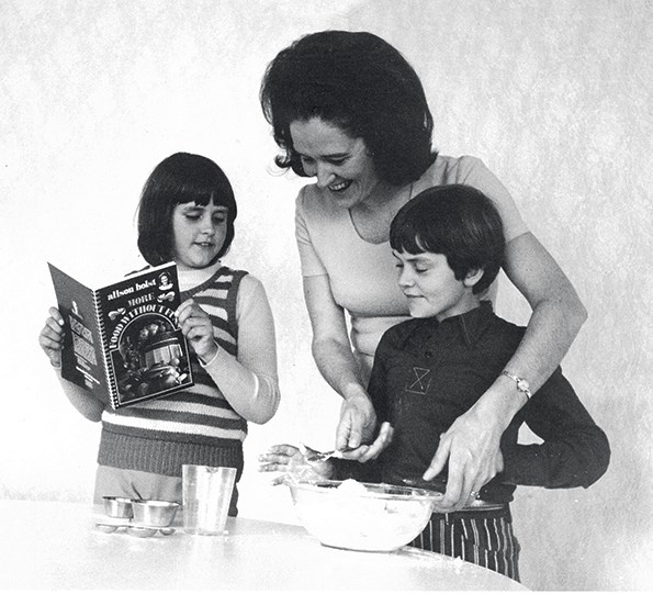 Before hitting our screens in 1965, Alison lectured in food and cooking at Otago university.