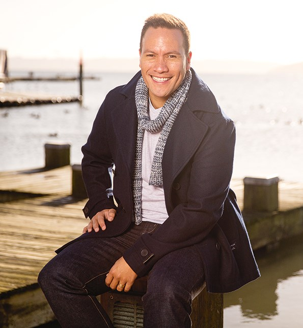 Tamati and Tim declared their love for one another at a civil union ceremony in December 2011.