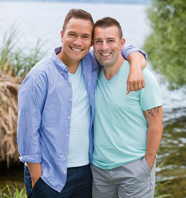 Civil union partner Tim has come on as Tamati's campaign manager.