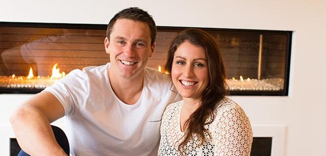Ben Smith and Katie Menzies
