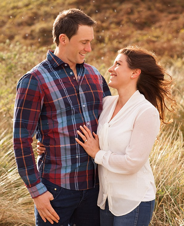 As well as planning their wedding, the couple are also renovating their Dunedin home.