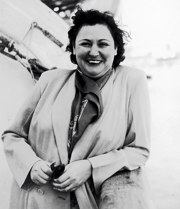 Wellington-born journalist Nancy Wake.