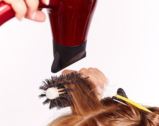Heat protection  Always apply a heat-protectant product before using styling tools. Without one, your hair may become dry, brittle and suffer from structural damage.  Image: bauersyndication.com.au