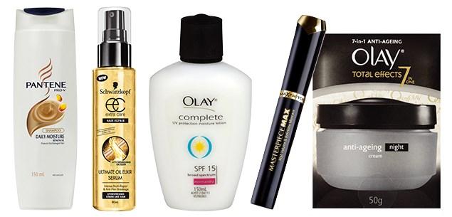 Urzila-Carlson's beauty essentials