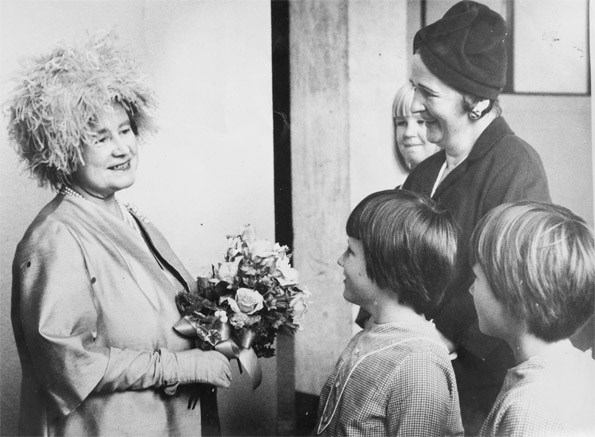 Plunket's patron, the Queen Mother, was a fan and visited the girls twice.