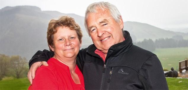 Garth McVicar and wife Anne