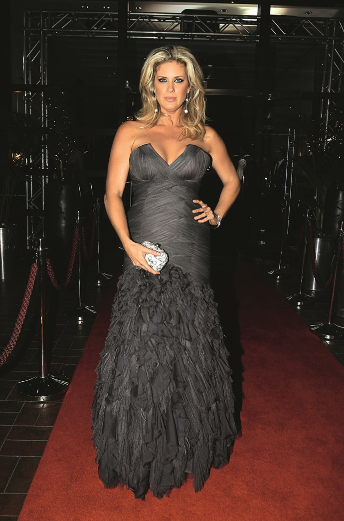 Rachel Hunter: Her wardrobe never looks less than magnificent.