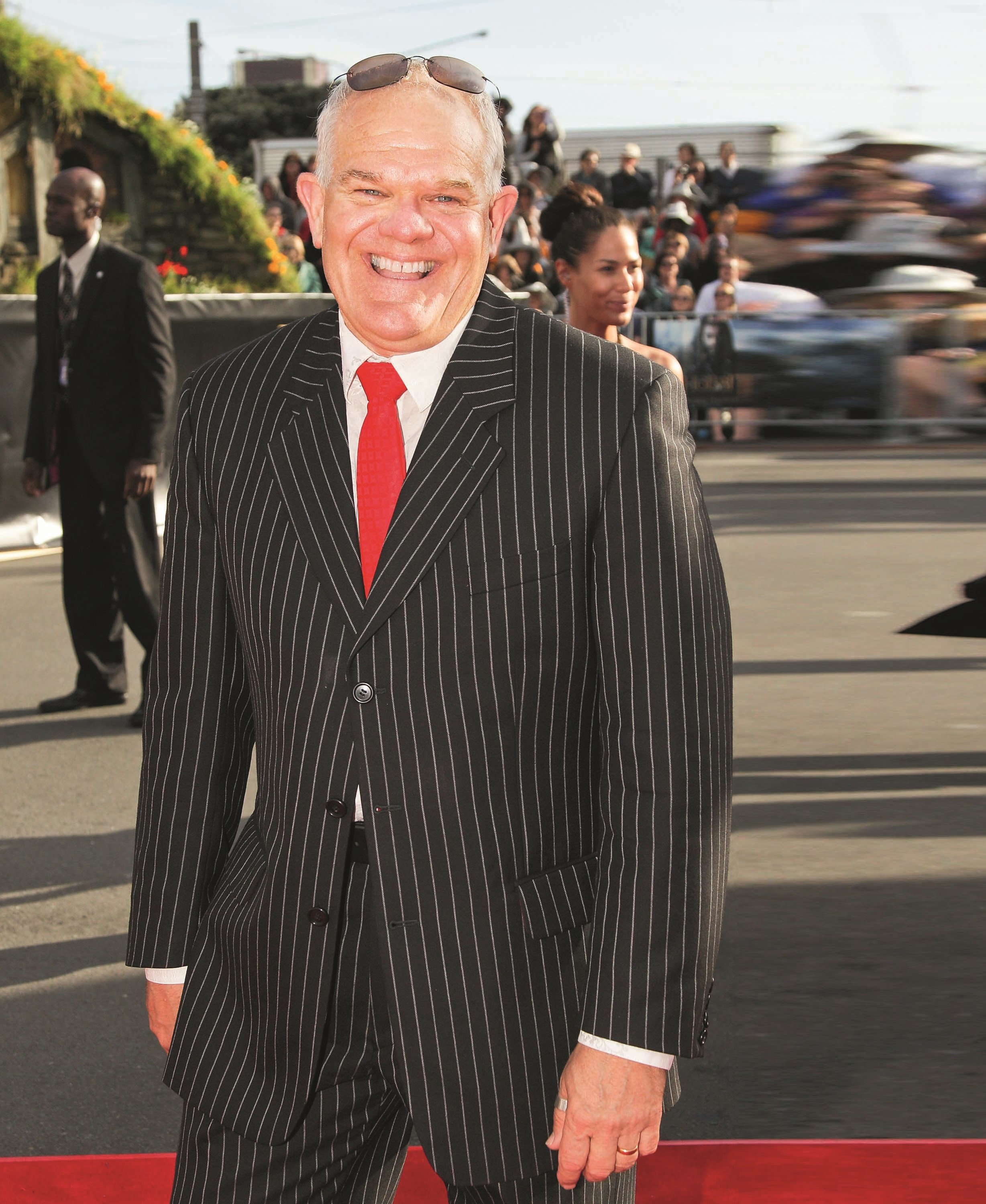 Mark Hadlow: he dresses with all the chutzpah of a master showman.