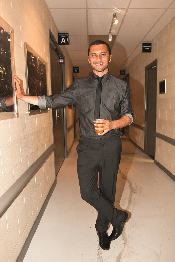 Jason Kerrison: he has captured his own fashion look, and made it his own.
