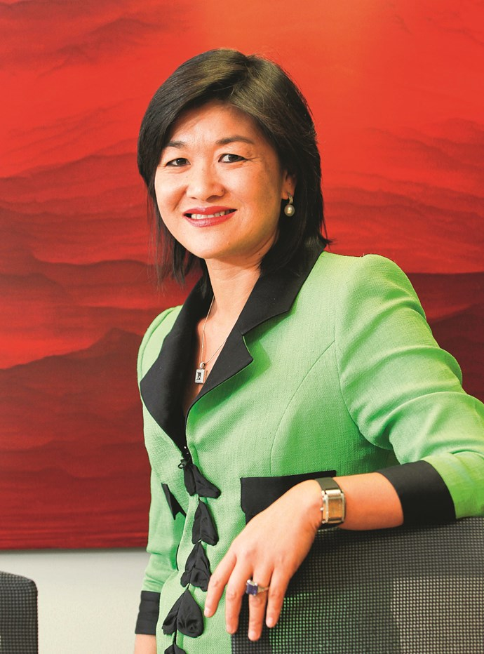 Mai Chen:  this hotshot lawyer is a super tsunami of style and chic.