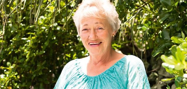 Lotto winner Helen Henderson