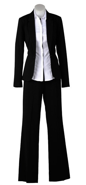 THURSDAY: Essential blazer $159 from Max (6-18). Essential contrast shirt $79 (6-18) from Max.