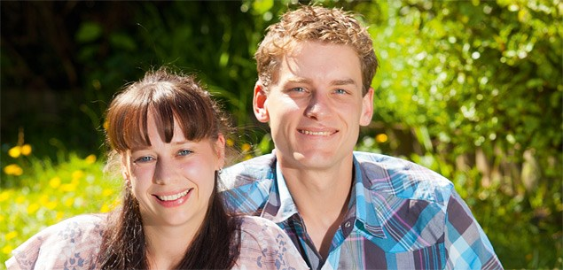 Juliane Jutz and Alastair Shelton