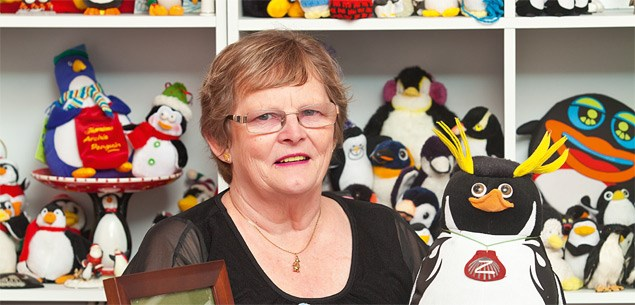 'Penguins helped save my life'