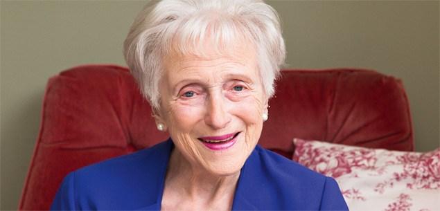 Christchurch great-grandmother Bernadine Bluett
