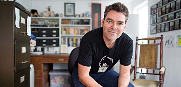 DJ-turned-author Justin Brown