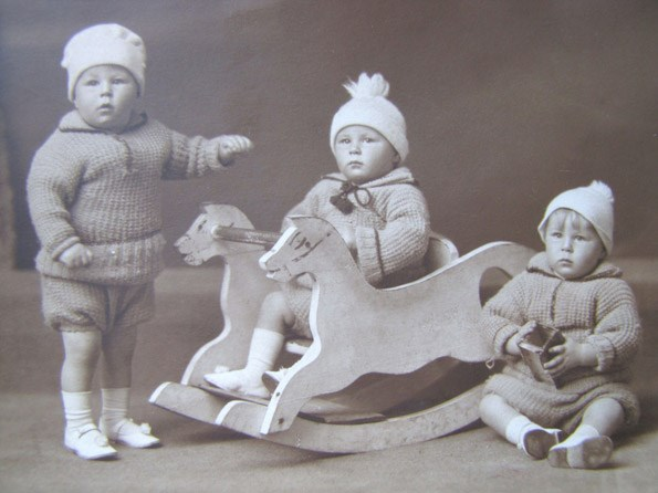 The Mossman triplets. 1924.