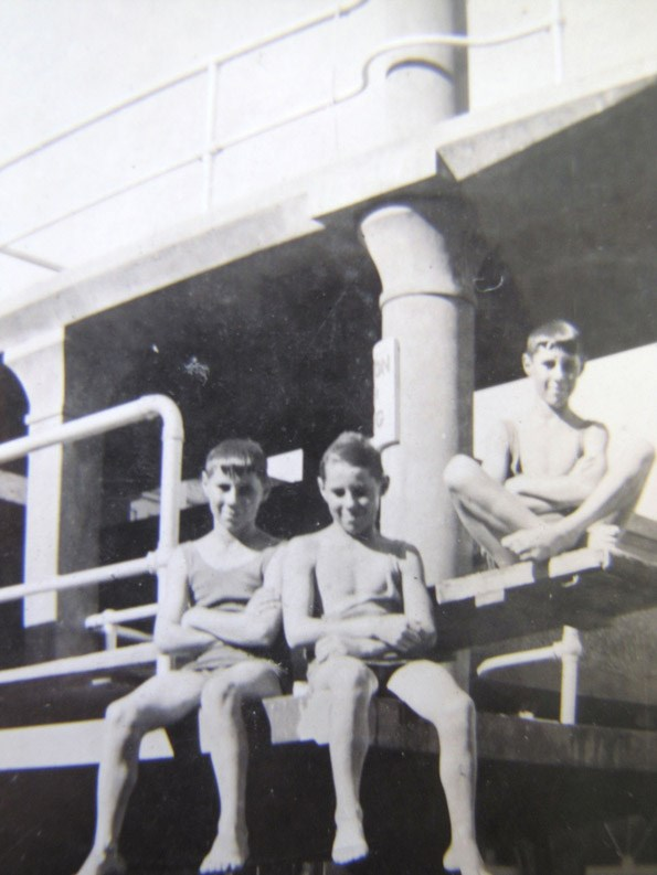 The boys in 1935.