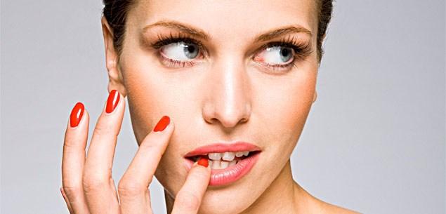 Nail tips for painting nails.