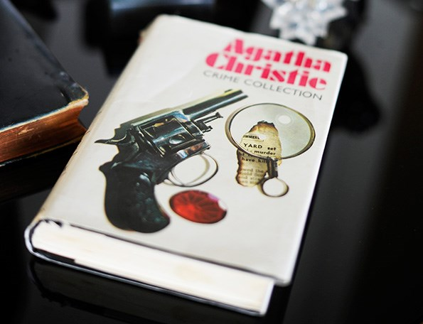 The many hours spent poring over Agatha Christie mysteries have paid off for Anna.