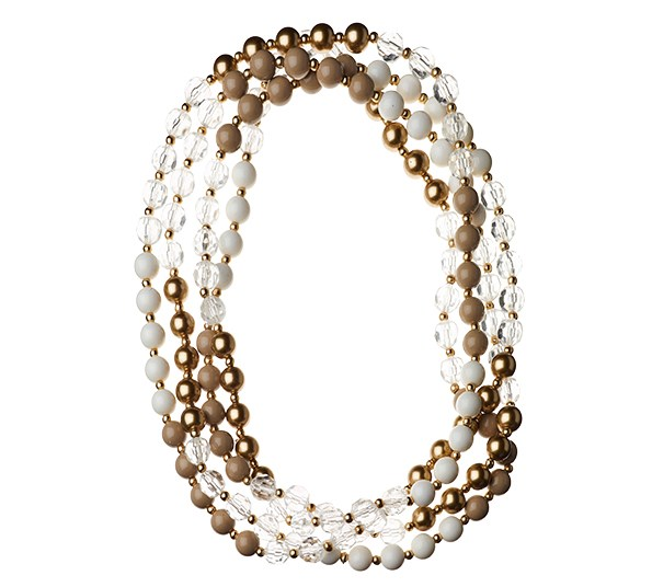 Bead necklace $19.90 from Colette.