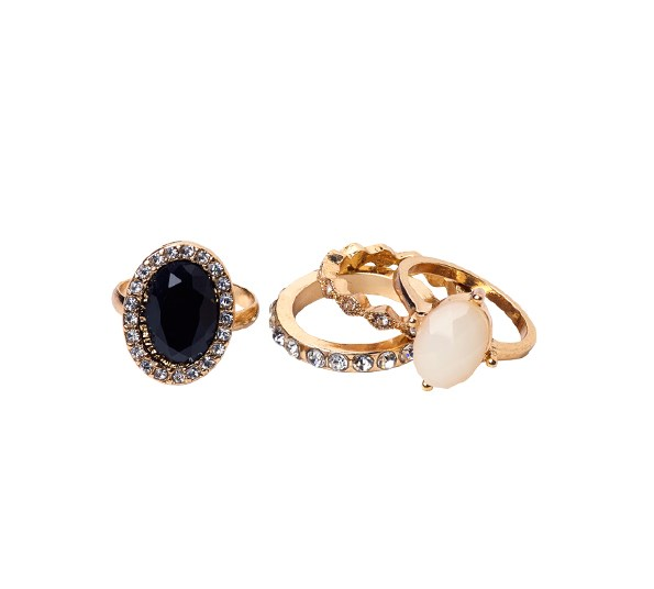 Rings (pack of four) $12.90 from Colette.