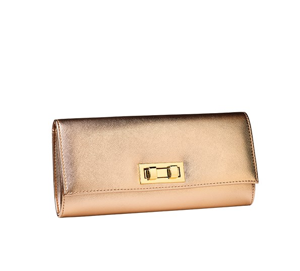 Miss Selfridge clutch $39 from Smith & Caughey's.