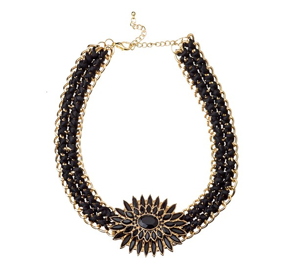 Necklace $24.99 from Number One Shoes.