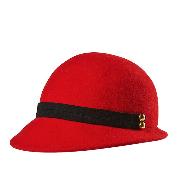 Felt hat, $25, from The Warehouse. Call 0800 422 274.
