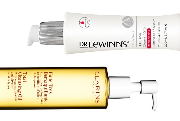 Dr LeWinns 4 Fusion Cleansing Oil, $37.90. Clarins Total Cleansing Oil, $49.