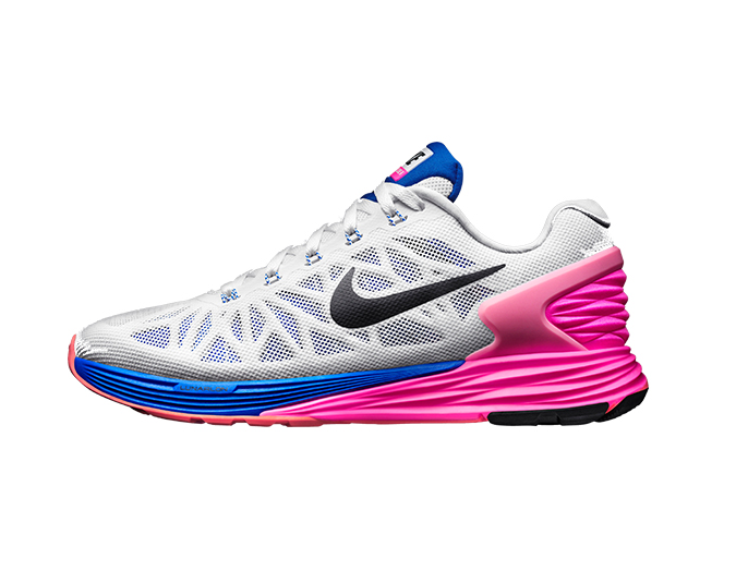 Nike LunarGlide 6, $220. For stockists call 0508 478 478.