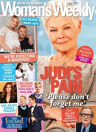 Judi Dench's fear of being forgotten