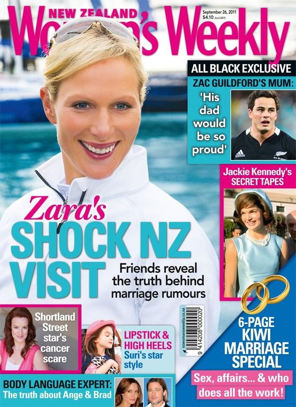 Zara Phillips' shock NZ visit