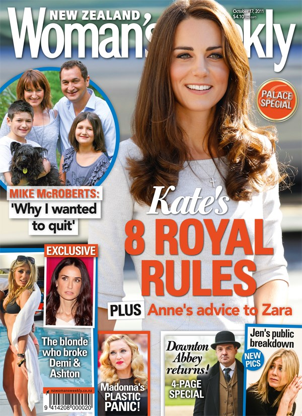 Kate Middleton's 8 royal rules