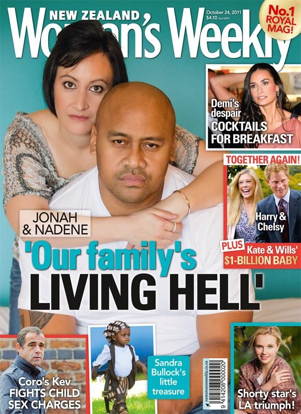 Jonah and Nadene Lomu - our family's living hell