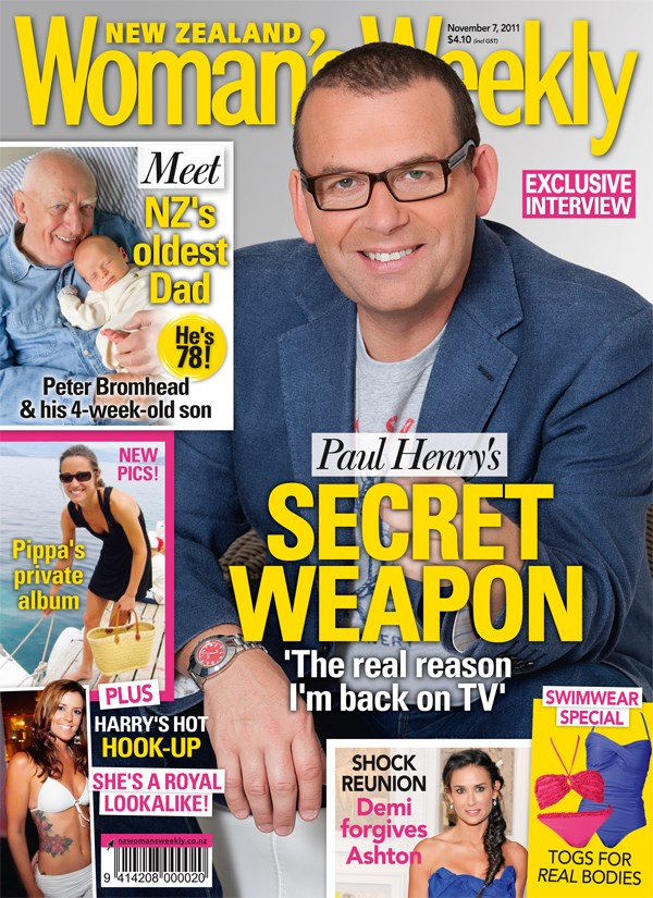 Paul Henry's secret weapon: the real reason I'm back on TV