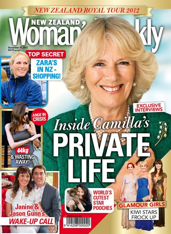 New Zealand Woman's Weekly - 19 November 2012
