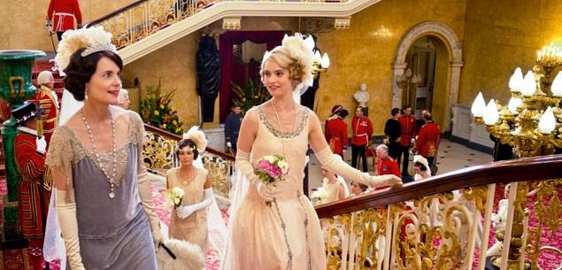 Scene from Downton Abbey.