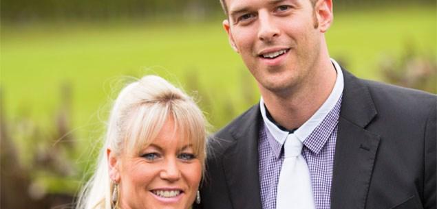 Tracey and Matt.