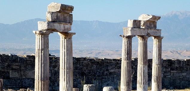 Columns at Hierapolis