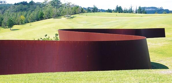 Te Tuhirangi Contour by Richard Serra