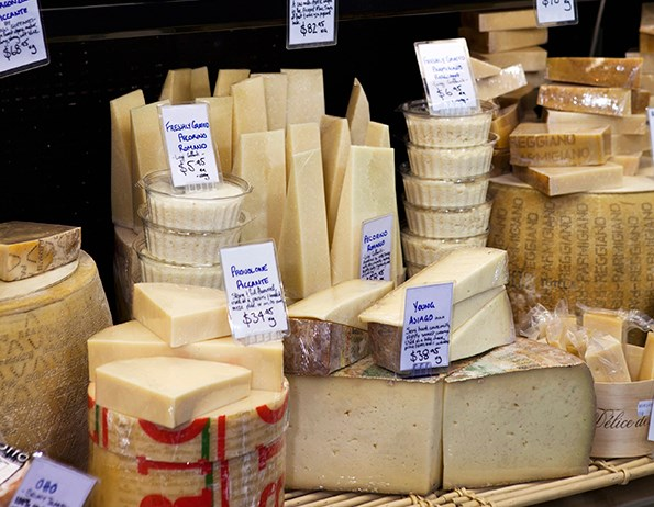 Cheese lovers will enjoy The Smelly Cheese Shop.
