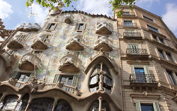 Gaudi's Casa Batlló is one of Barcelona's cultural treasures.