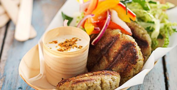 how to make falafel patties
