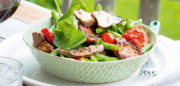 lamb and mint salad