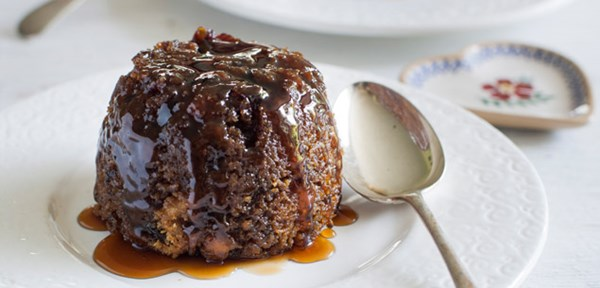 Apple and Date Puddings