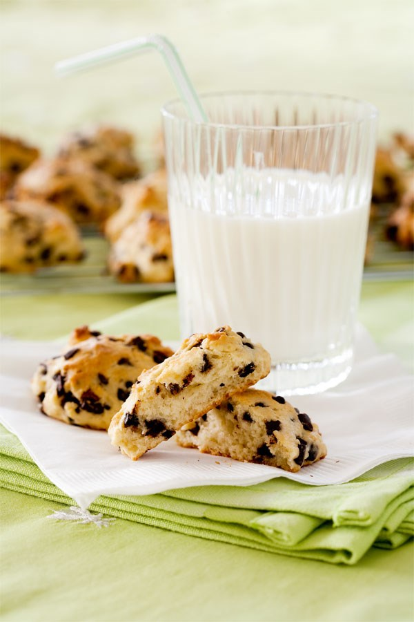 Banana chocolate chip drops