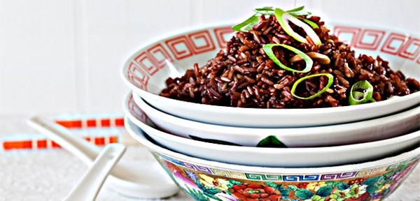 New Year's red rice